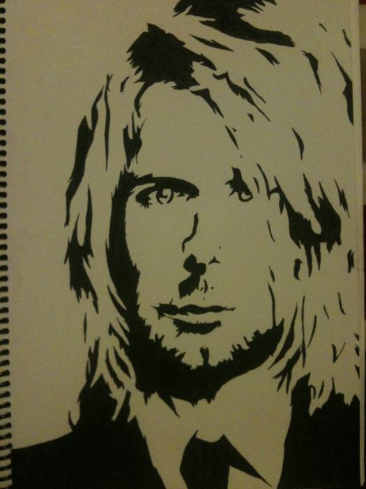 Kurt Cobain par STJIMMYRIP